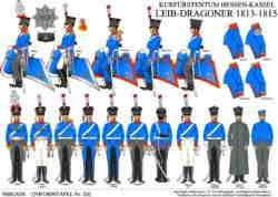 Tafel 326: Kurfürstentum Hessen-Kassel: Leibdragoner-Regiment 1814-1815