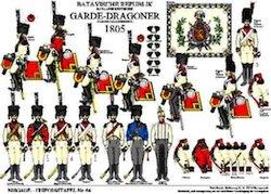 Tafel 64: Batavische Republik: Garde-Dragoner 1805