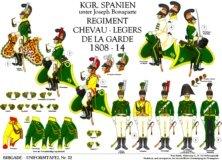 Tafel 32: Spanien unter König Joseph: Regiment Garde-Chevau-legers 1808-1814
