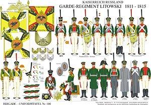 Tafel 196: Kaiserreich Russland: Garde-Regiment Litowski 1811-1815