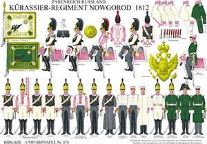Tafel 276: Kaiserreich Russland: Kürassier-Regiment Nowgorod 1812