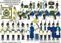 Tafel 298: Königreich Preußen: Kürassier-Regiment Nr.3 1806