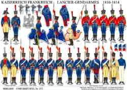 Tafel 373: Kaiserreich Frankreich: Lancier-Gendarmes 1811-1814