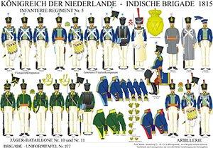 Tafel 277: Königreich der Niederlande: Indische Brigade 1815