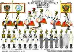 Tafel 372: Kaiserreich Österreich: Kürassier-Regiment Lothringen 1809-1815