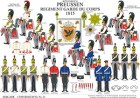 Tafel 51: Königreich Preußen: Regiment Garde du Corps 1815