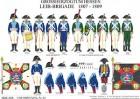 Tafel 65: Großherzogtum Hessen-Darmstadt: Leib-Brigade 1807-1809