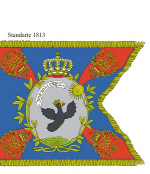 Tafel 71: Königreich Preußen: 1. Westpreußisches Dragoner-Regiment Nr.2 1808-1813