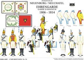 Tafel 74: Fürstentum Neuenburg/Neufchatel: Ehrengarde 1806-1814