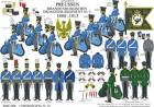 Tafel 78: Königreich Preußen: Brandenburgisches Dragoner-Regiment Nr.5 1808-1813