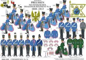 Tafel 79: Königreich Preußen: Neumärkisches Dragoner-Regiment Nr.6 1808-1813