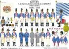 Tafel 83: Königreich Bayern: 5. Linien-Infanterie-Regiment Preysing 1808-1813