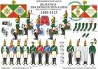 Tafel 91: Königreich Italien: Dragoner der königlichen Garde 1808-1813