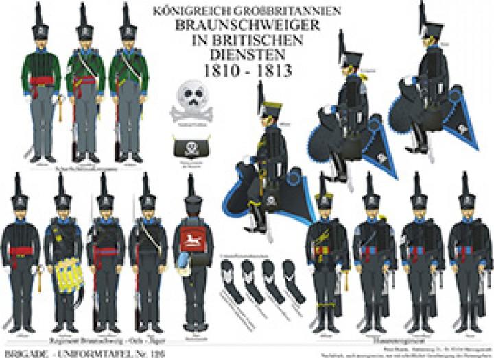 Tafel 126: Königreich Großbritannien: Braunschweiger In