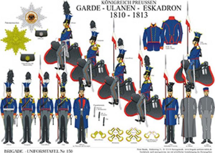 Tafel 130: Königreich Preußen: Garde-Ulanen-Eskadron 1810-1813