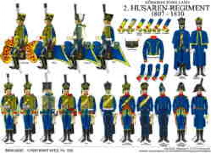 Tafel 328: Königreich Holland: 2. Husaren-Regiment 1808-1810